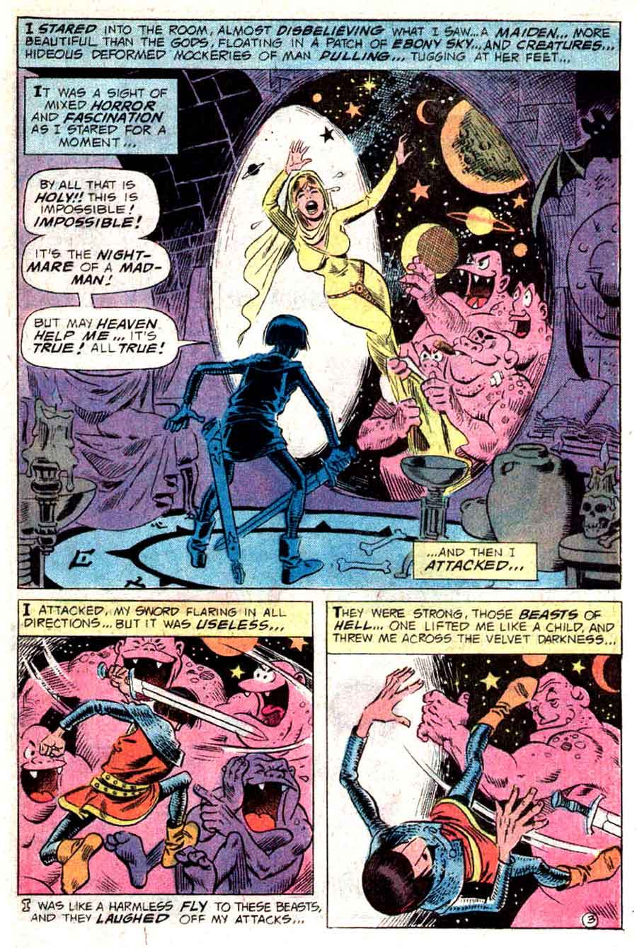 Plop v1 #14 dc 1970s bronze age comic book page art by Wally Wood