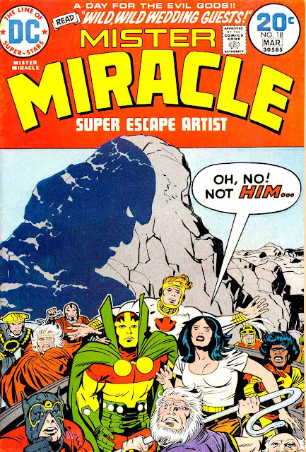 Mister Miracle v1 #1 dc bronze age comic book cover art by Jack Kirby