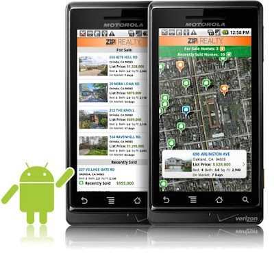 zip realty app droid