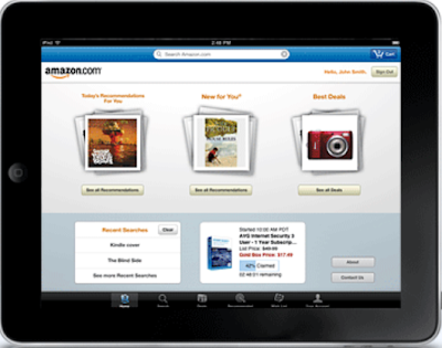 amazon ipad application