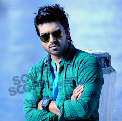 Ram charan Teja in Orange photos