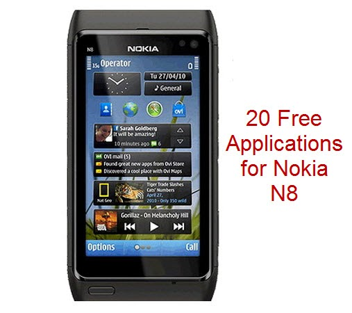 Nokia N8: 20 Free Symbian Applications ~ Latest Mobile News