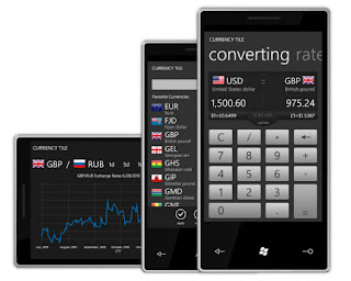 Currency Tile app for WP7