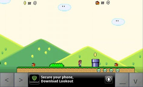 Mario's Adventure game for Android