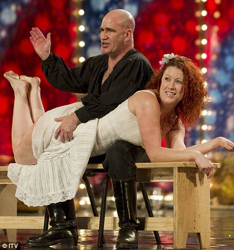 Larsen Pablo Britains Got Talent A Woman Getting Spanked A
