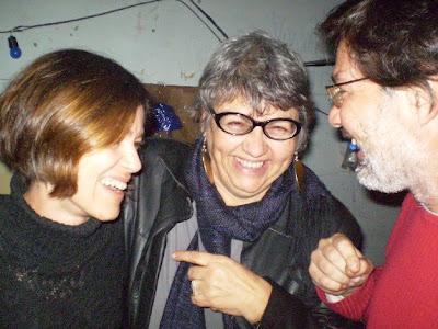 Luciana Tonelli, Vera Lúcia Casa Nova e Álvaro Andrade Garcia