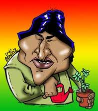Nobel de la Paz para Evo Morales