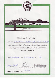 Sheila's Certificate