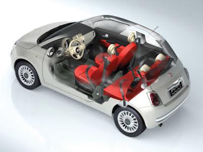 New Fiat 500 - Interior Space