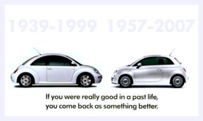 New Fiat 500 Vw Beetle Revival