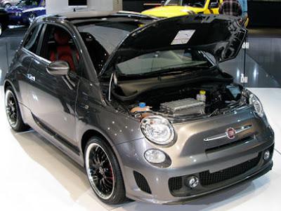 5ooblog Fiat 5oo New Fiat 500 Bev Concept More Pics