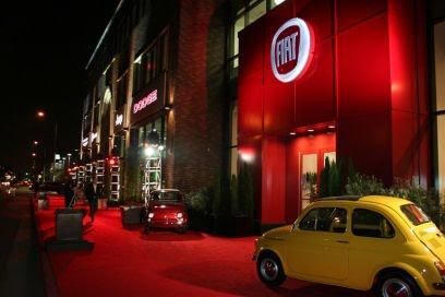 Motor Village La >> Car Designs New Fiat 500 Us Preview Event La
