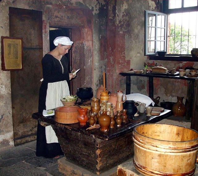 Castelo de Ronneburg: cozinhas