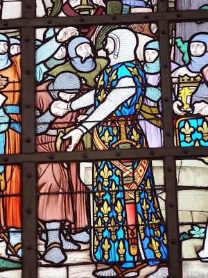 Filipe Augusto rei da França, na batalha de Bouvines