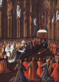 Ademar de Monteuil descobre a Sagrada Lança durante a Primeira Cruzada