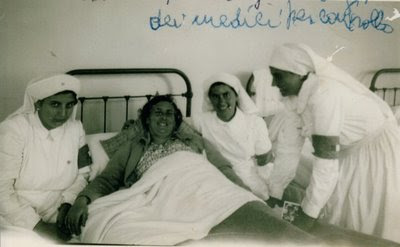 Anna Santaniello na enfermagem, Lourdes 150º aniversário das aparições