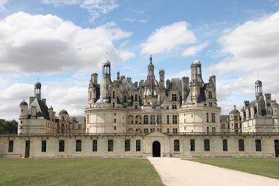 Chambord, aérea, castelos medievais