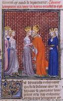 Carlos IV e rainha esposa de Carlos V, Idade Media