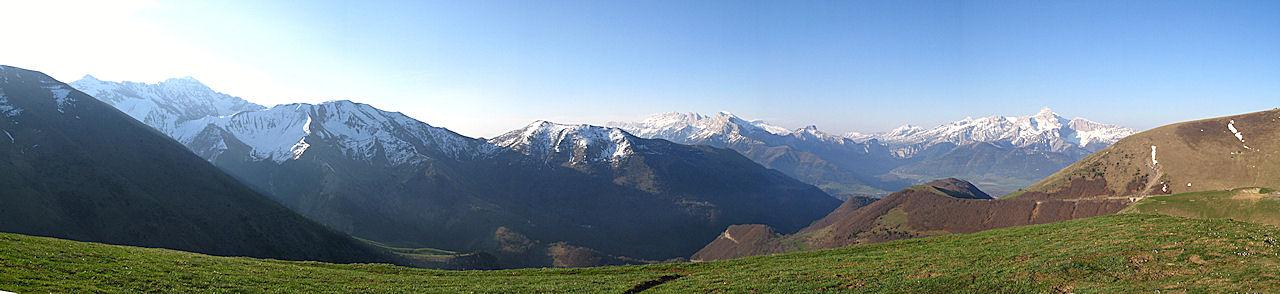 La Salette: vista panorâmica desde o local da aparição