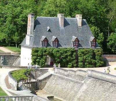 Chenonceaux, casa do jardineiro. Castelos medievais
