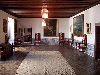 Escorial, aposentos Felipe II. Castelos medievais