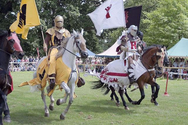 Justa medieval, Warwick