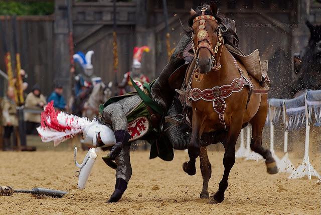 Cavaleiro medieval derrubado, Kaltenberg