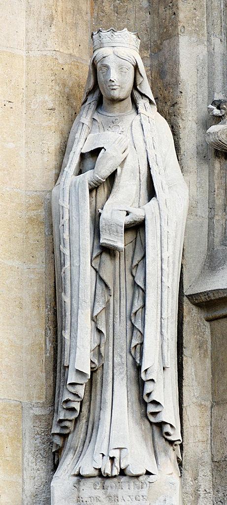 Santa Clotilde, igreja de Saint-Germain l'Auxerrois, Paris