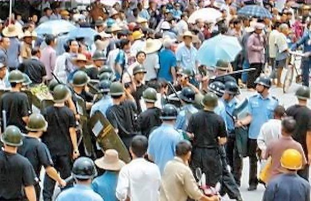 Protestos em Jishou