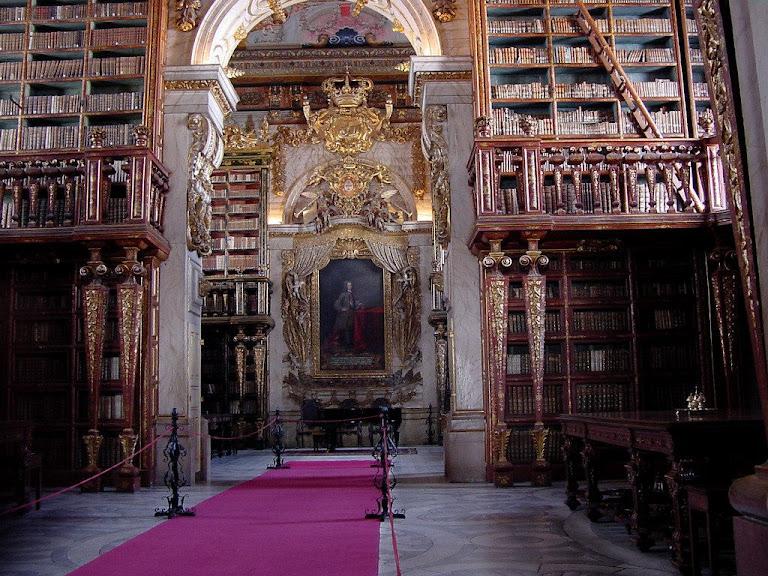 Universidade de Coimbra, Portugal, Biblioteca Joanina