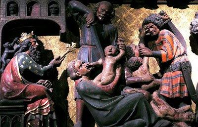 Massacre dos inocentes, Catedral de Notre Dame, Paris