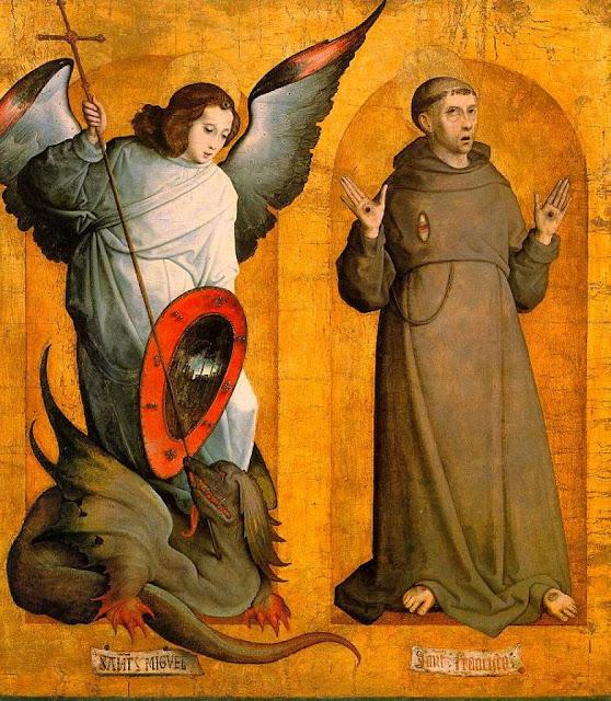 São Miguel e São Francisco, Juan de Flandes