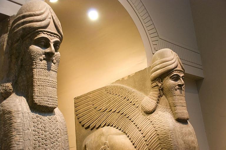 Estátuas da Caldéia, British Museum