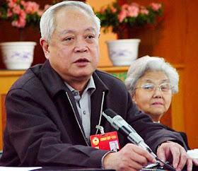 Liu Bainian, funcionário marxista chefe da 'Associação Patriótica' que oprmme os católicos