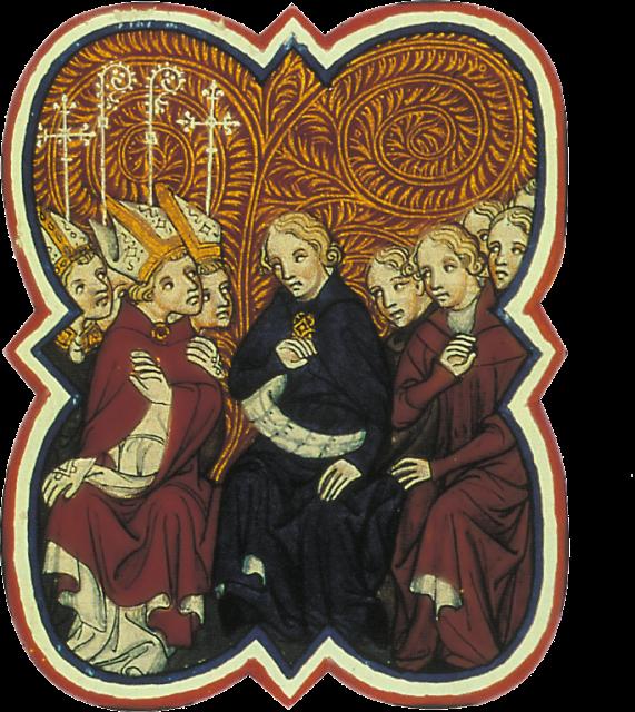 Conselho do rei e bispos