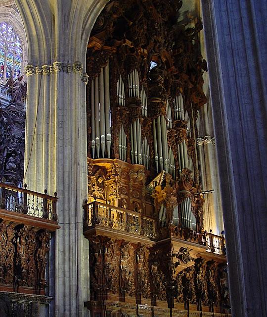 Órgão da catedral de Sevilha