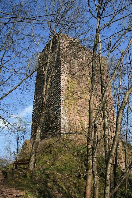 Ruínas do castelo de Nideck
