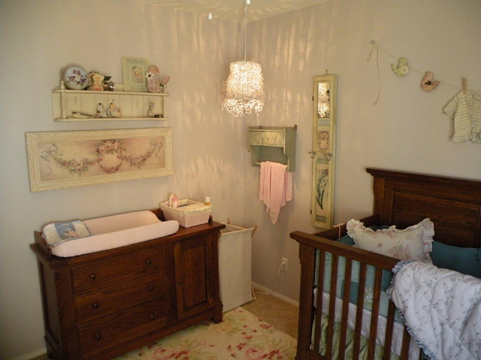 Vintage Eclectic Girl S Baby Nursery