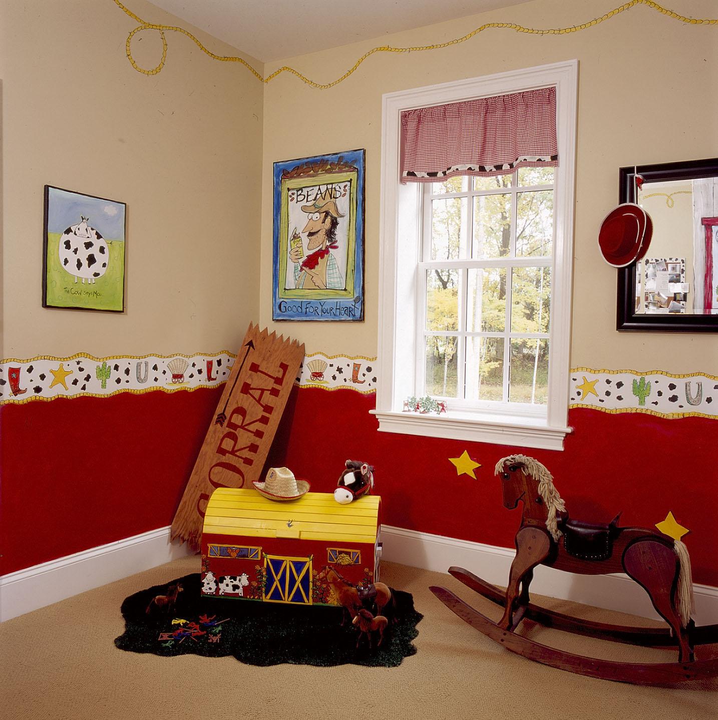 Whimsical Cowboy Room - Design Dazzle