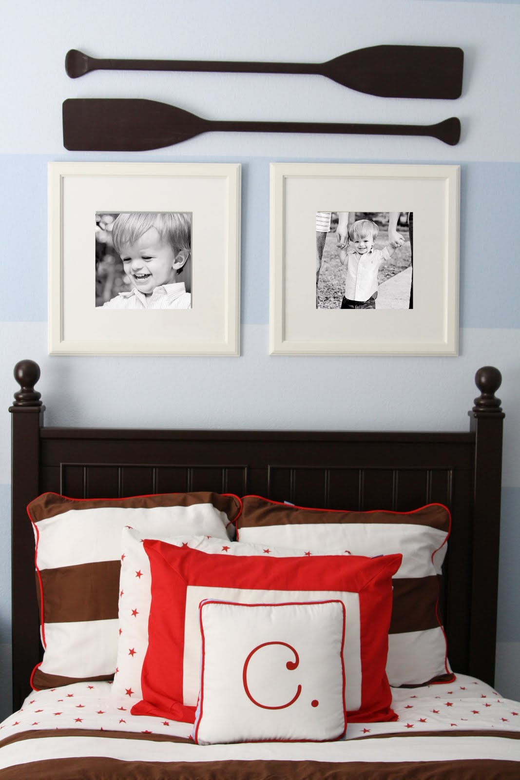 Nautical Themed Bedroom Decor: Classic Nautical Boys Room