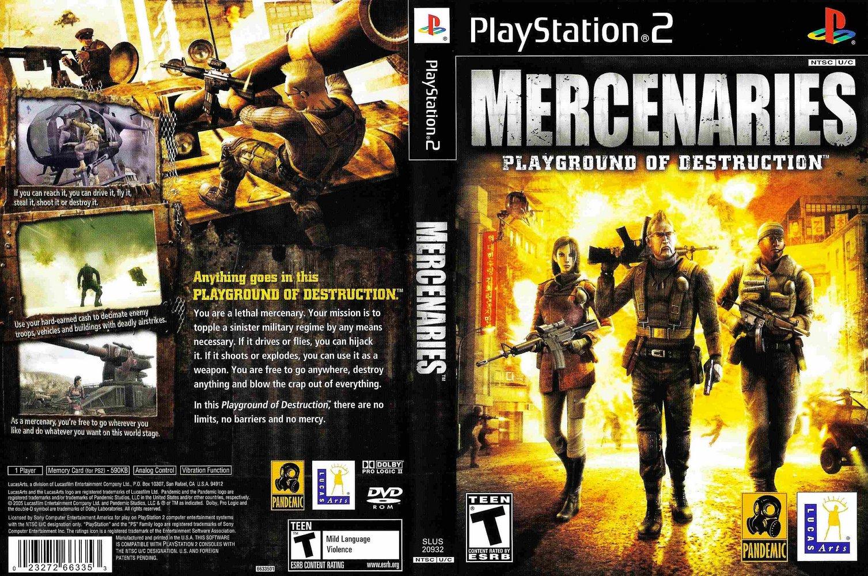 3 8 Bolt >> GAME PS2: Mercenaries Playground of Destruction
