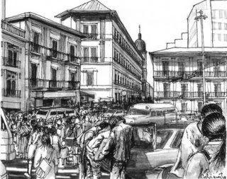 Calle Comercio de La Paz