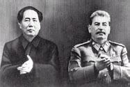 Mao e Iósif Stalin