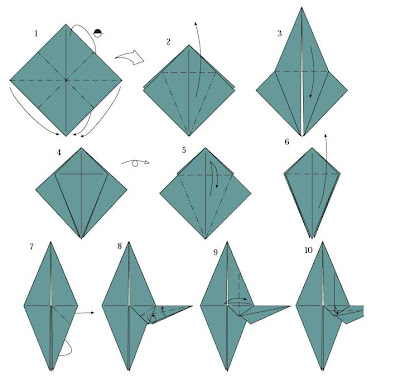 the art of origami alien