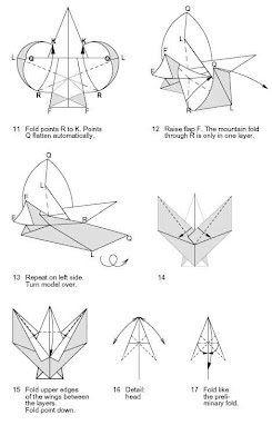 How To Make Angel With Origami Skills This Has Coloured Wings And A White Face Dress When Folded From Soft Paper You May Create Nice