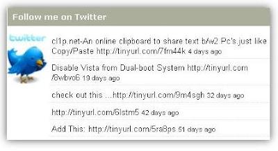 twitter-updates-widget