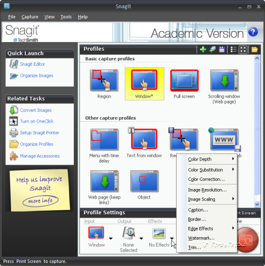 Most Advance and Best Screen shot capturing software