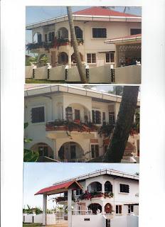 Vakantiewoning in Suriname....Goed,gezellig en betaalbaar! Aanvullende Informatie * Te huur een vakantiewoning, voor max. 6 personen. Volledig gemeubileerd en goed beveiligd met hydrofoor. * Beneden: Ruime keuken, Ruime woonkamer, 2 persoonskamer, eethoek, douche, toilet, voor en achter terras, ruime tuin en garage * Boven: Ruime zitkamer met bankstel, groot voor en achterbalkon, drie grote slaapkamers voorzien van ventilatoren; douche en ligbad en toilet. De bovenverdieping is middels een binnentrap verbonden met woonkamer. * Overige voorzieningen: Geheel gemeubileerd. Aanwezig: beddengoed, handdoeken, magnetron, waterkoker, ricecooker, grote koelkast met vriezer, drie, twee-zits bankstellen, klerenkasten, TV, radio. Op aanvraag kan uw wasgoed gewassen en gestreken worden. Tevens maaltijden beschikbaar. * Voor nadere informatie: dagelijks op 020-6937386 en 0643009075 e-mail: vameerun@chello.nl Reageer nu, want vol is vol!
