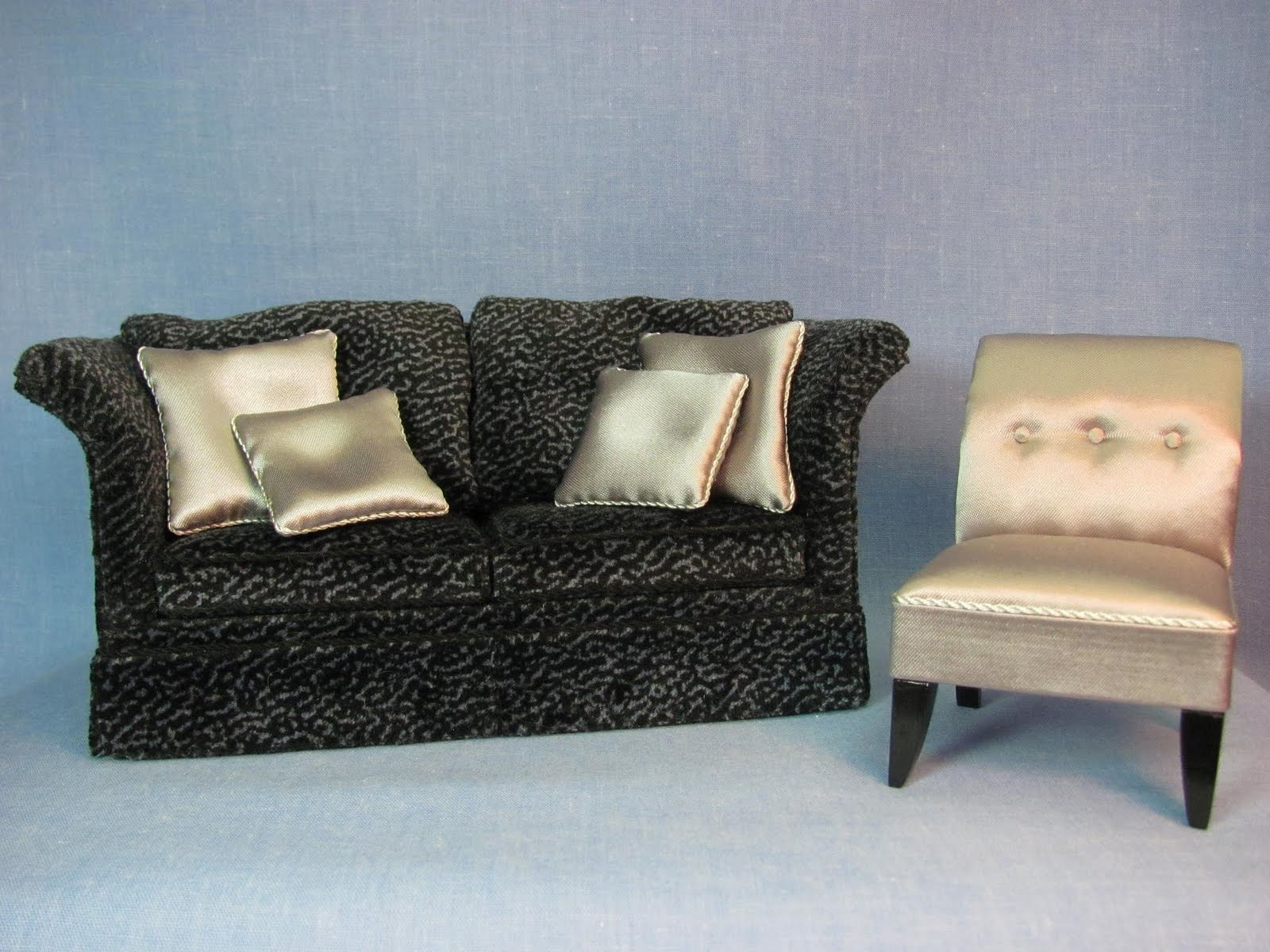 Dollhouse Sofa Full Sleeper Sale Miniature Furniture Tutorials 1 Inch Minis