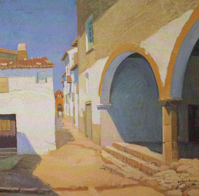 Rafael Estellés Bartual,Paisajistas españoles, Pintores españoles, Pintor español, Pintores Valencianos, Paisajes de Estellés Bartual